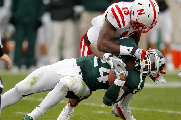 No. 21 Nebraska 28, Michigan St. 24