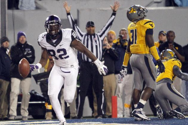 TCU's Two-Point Conversion Beats WVU in 2OT
