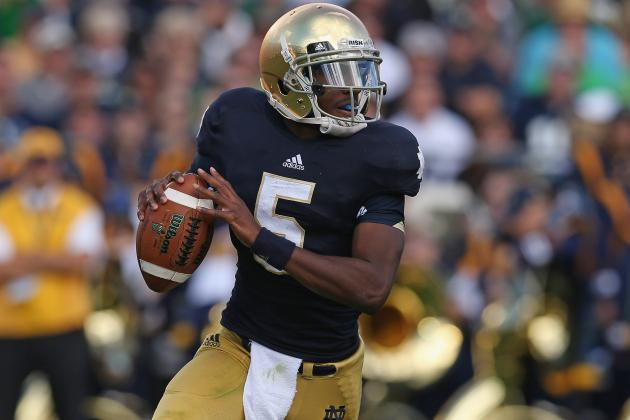 Pittsburgh vs. Notre Dame: Everett Golson Proves He's Got the Clutch Factor