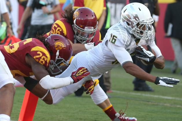Oregon vs. USC: Live Blog in-Game Analysis