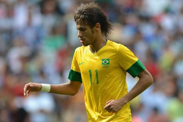 Man City Line Up £50m Bid for Brazilian Sensation Neymar
