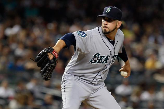 Mariners Re-Sign Oliver Perez