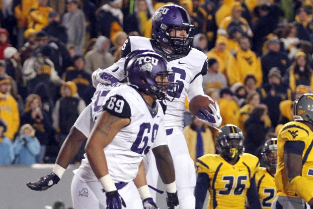 TCU Beat West Virginia 39-38 on Reverse Pass and Two-Point Conversion
