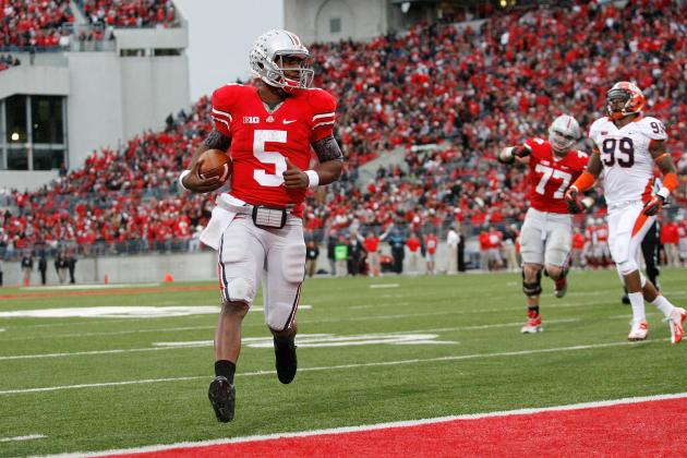Ohio State Football: Will Braxton Miller's Passing Woes Ever Catch Up to Him?