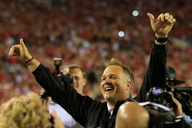 Georgia's Mark Richt Sitting Pretty While Multiple SEC Coaches on Hot Seat