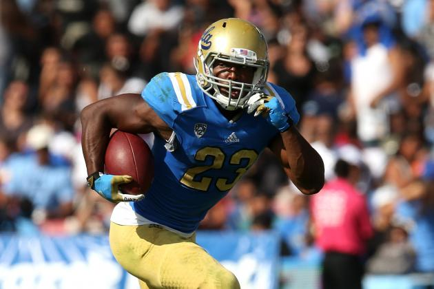 Franklin Becomes UCLA's Career Rushing Leader