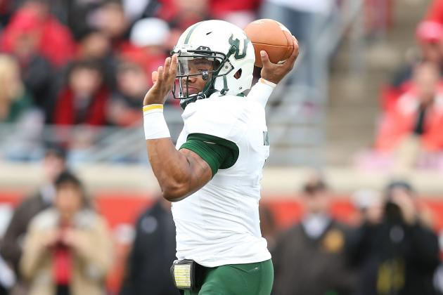 USF QB B.J. Daniels out for the Year