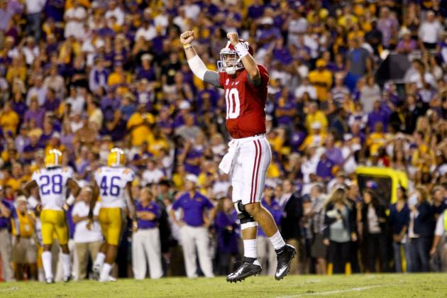 Alabama vs. LSU: AJ McCarron Has His Heisman Moment in Big Road Win