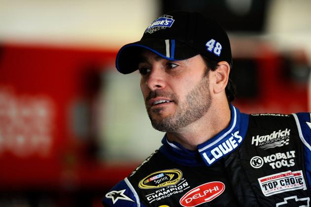 Chase Leader Johnson, NASCAR Giving to Sandy Efforts