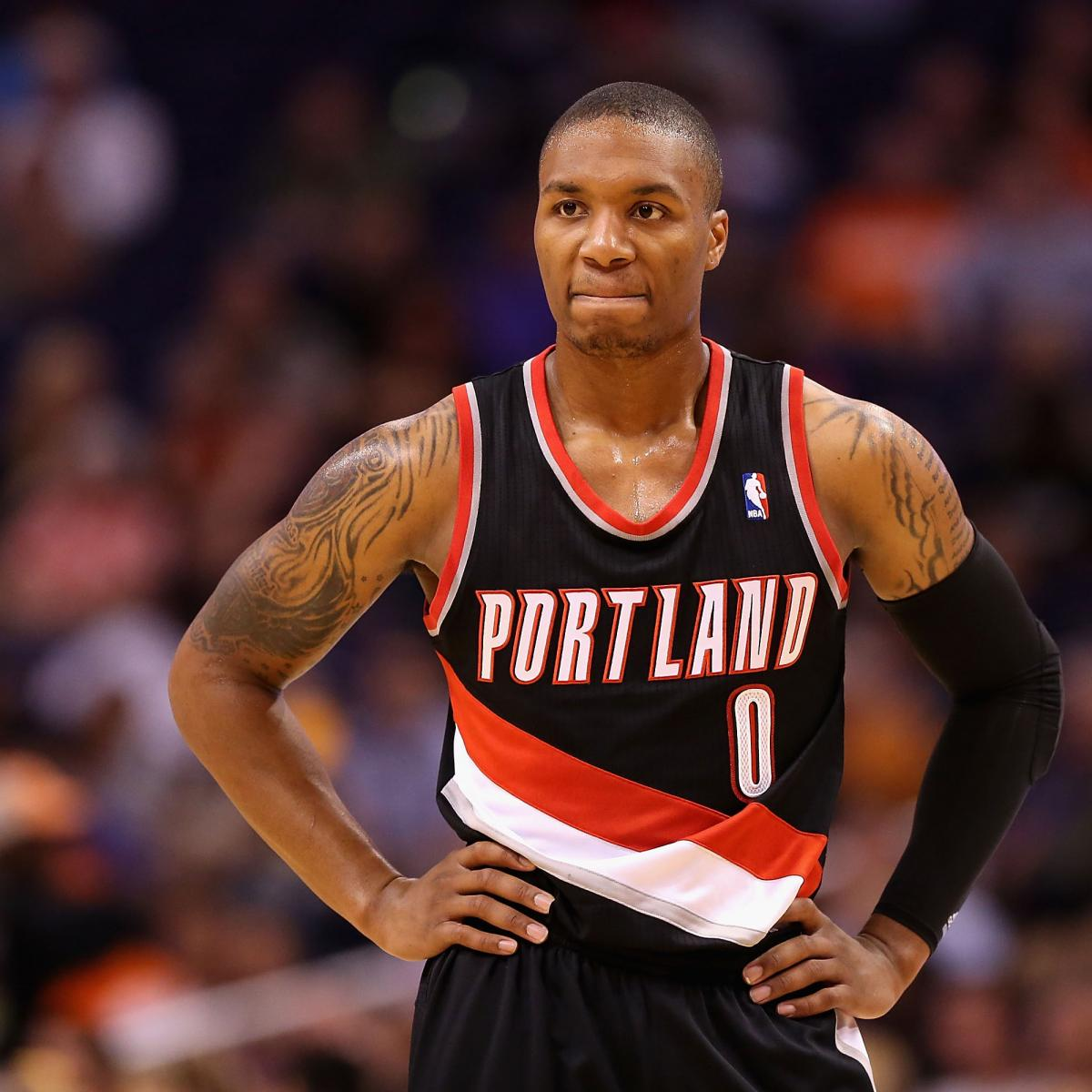 Damian Lillard: Damian Lillard's Historic Start Continues In Win Over