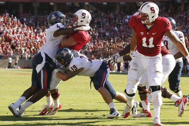 Arizona Linebacker Hank Hobson Carted Off Field on Backboard