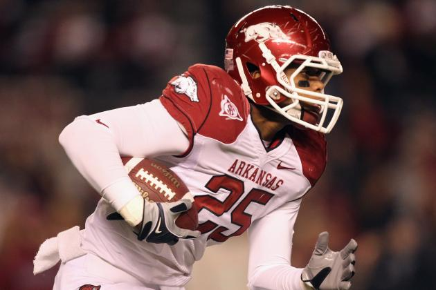 Terrell Williams: Arkansas LB Reportedly Arrested for DWI