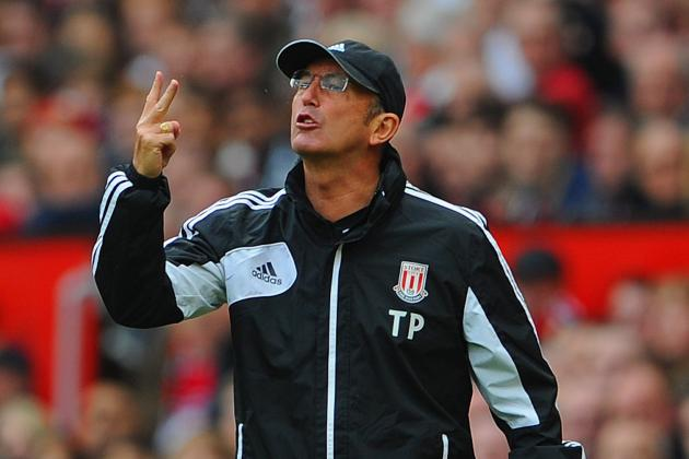 Premier League: Stoke Manager Tony Pulis Calls for New Rules on Diving (Poll)