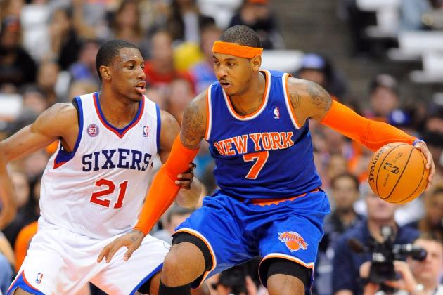 Philadelphia 76ers vs. New York Knicks: Live Score, Results and Game Highlights