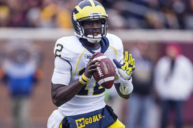 Column: Devin Gardner, Receiver, Shows He Might Be a Quarterback After All