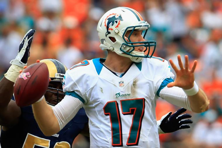 Tannehill Officially Active vs. Colts