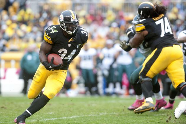 Rashard Mendenhall's Injury Woes Make Him an Unreliable Fantasy Option in 2012
