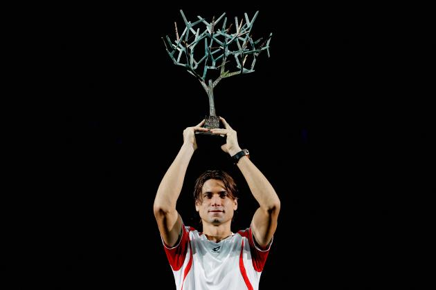 David Ferrer Claims First Masters Title