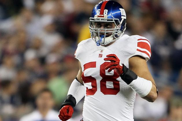 Mark Herzlich Will Improve Giants' Struggling vs. Steelers and Beyond