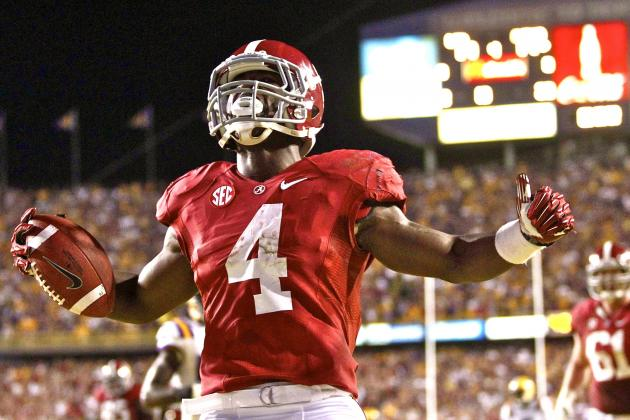 AP College Football Poll 2012: Complete Week 11 Standings Released