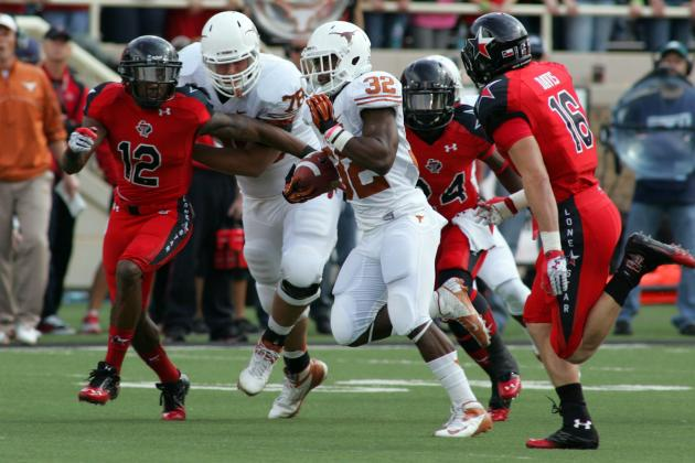 Jonathan Gray Is the Future for the Texas Longhorns