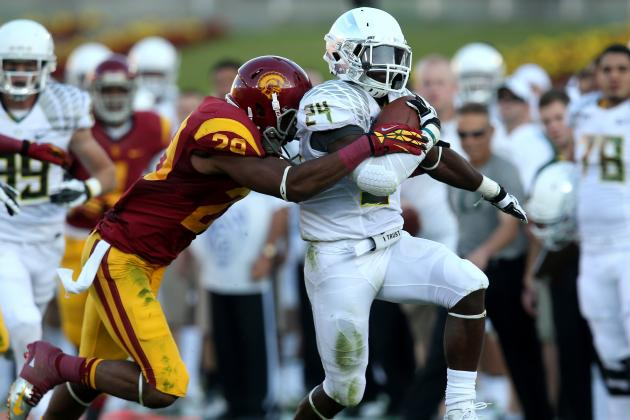 Barner Sets Ducks' Rushing Record with 321 Yards in Front of Family, Friends