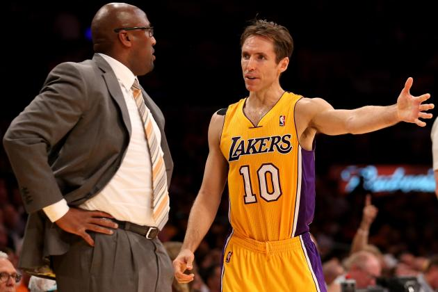 Lakers News: Why Steve Nash Injury Is Major Concern for Team's Title Hopes