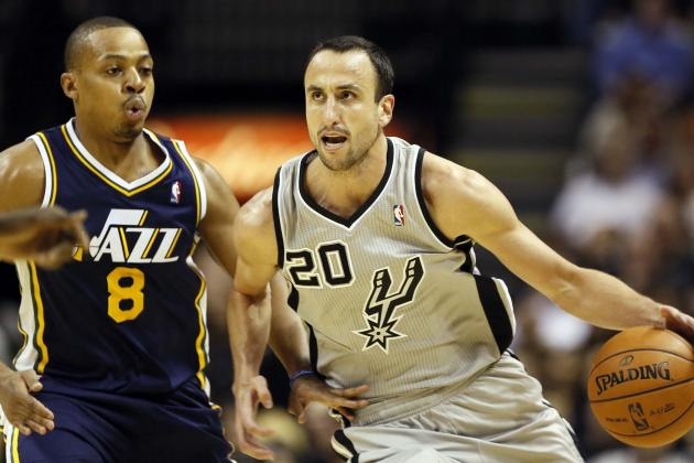 "Ginobili ""satisfied"" with Return to Spurs, 8 Points in 16 Minutes"