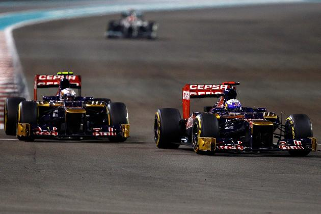 F1 News: Abu Dhabi GP: Ricciardo Mystified by Vettel Incident