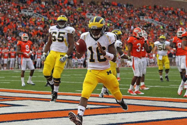 Michigan Football: Gardner Was Great Against Minnesota, Can't Replace Robinson