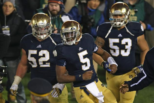 Notre Dame Football: Everett Golson Must Remain at QB for Fighting Irish