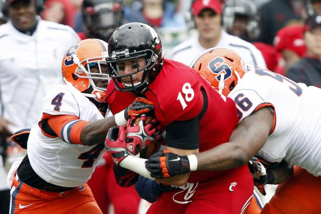 Porous Syracuse Defense Fails to Limit Cincinnati's Overpowering Rushing Attack