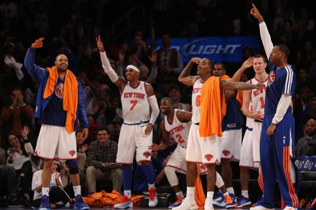 Carmelo Anthony, New York Knicks Win Again with Three-Pointers and Defense