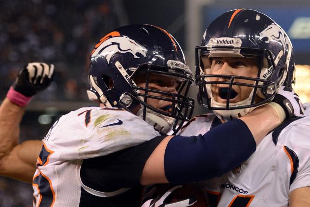 Broncos Guard Chris Kuper Carted off vs. Bengals