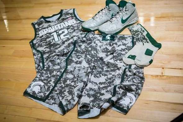 Nike to Produce Camouflage Jerseys for Military-Themed College Basketball Games