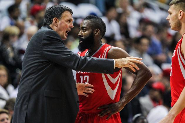 James Harden Seizing Opportunity to Lead Rockets