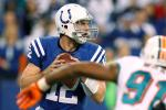 Luck Sets Rookie Passing Record in Win Over Fins