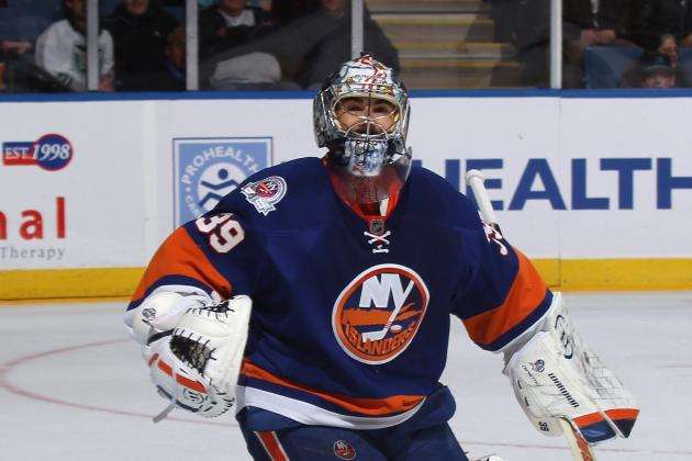 New York Islanders: DiPietro Injured in Germany... Already?