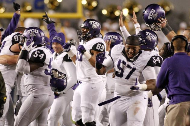 Wild Finish in Morgantown Ends with TCU Celebrating Huge Overtime Win