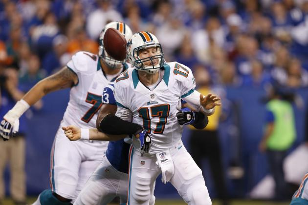 Miami Dolphins vs. Indianapolis Colts: Luck Outlasts Tannehill in Colts Win