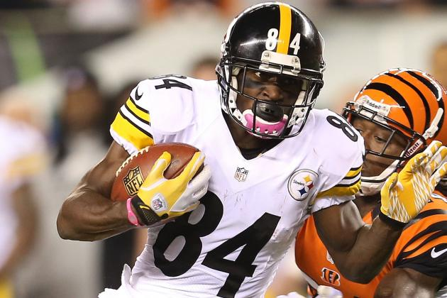 Antonio Brown Questionable to Return