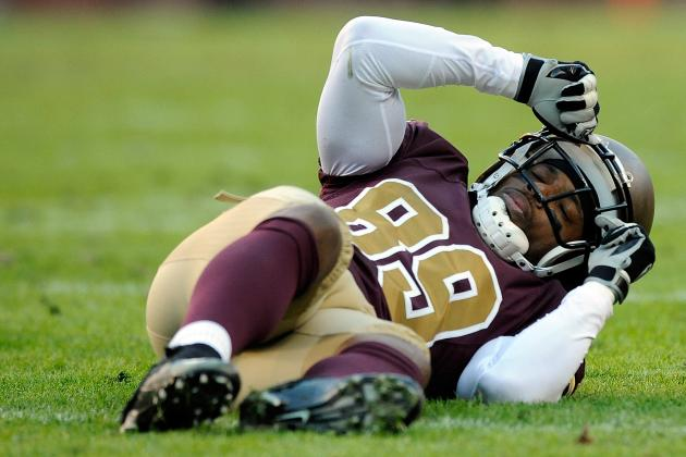 What Does Santana Moss' Injury Mean for Fantasy Owners, Redskins?