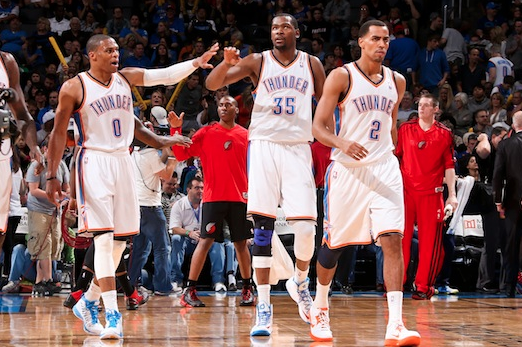 Moving on from Harden, the Thunder Rely on Built-in Chemistry
