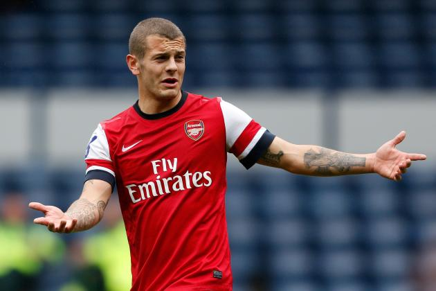 Jack Wilshere's Red Card Born of Bitter Frustration at Wenger and Arsenal