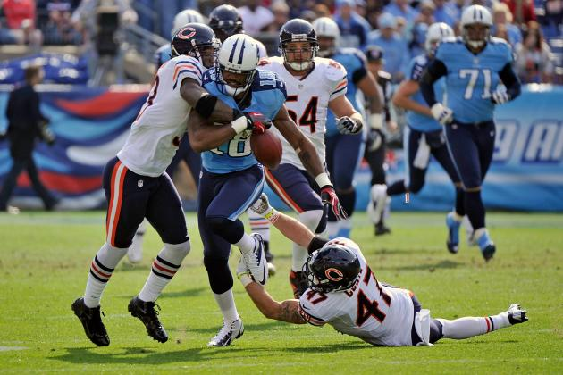 Tillman, Defense Propel Bears to 51-20 Rout of Titans