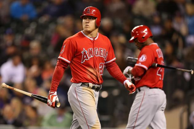 Angels Set to Go with Trout-Bourjos-Trumbo Outfield