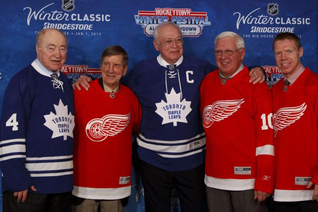NHL Winter Classic: Red Wings & Leafs Fans Robbed of Seeing 2 Alumni Games