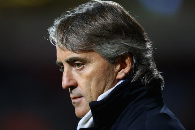 Roberto Mancini Writes off Manchester City's Champions League Chances