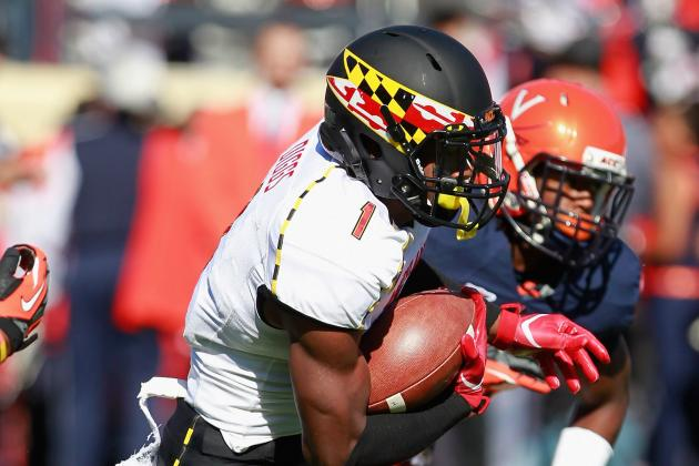 Randy Edsall Says Stefon Diggs Needs to Avoid Outbursts