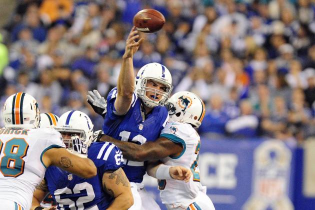 Dolphins vs. Colts: Andrew Luck Rallies Indianapolis on Record-Breaking Day